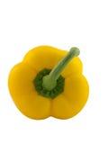 желтый цвет паприки Стоковая Фотография