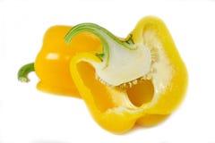 желтый цвет перца паприки Стоковая Фотография RF