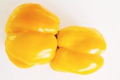желтый цвет перца Стоковая Фотография