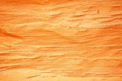 желтый цвет песка волнистый Стоковые Изображения