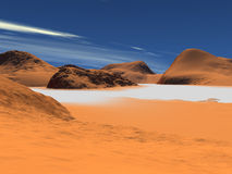 желтый цвет песка Стоковые Фотографии RF