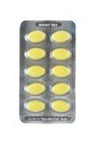 желтый цвет пилек пакета Стоковые Изображения RF