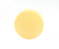 желтый цвет пилюльки круглый Стоковое Изображение