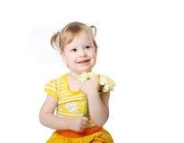 желтый цвет платья стоковые изображения rf