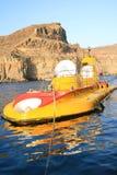 желтый цвет подводной лодки Стоковые Изображения