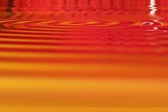 желтый цвет померанцового красного цвета Стоковая Фотография