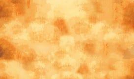 Желтый цвет/предпосылка картины Grunge золота Стоковые Изображения