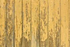 желтый цвет предпосылки деревянный Стоковое Изображение