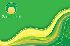 желтый цвет предпосылки зеленый бесплатная иллюстрация