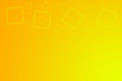 желтый цвет предпосылки померанцовый Стоковое фото RF