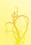 желтый цвет предпосылки померанцовый Стоковые Изображения RF