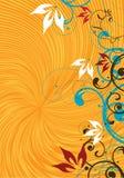 желтый цвет предпосылки иллюстрация штока