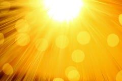 желтый цвет предпосылки Стоковое Фото
