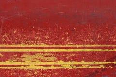желтый цвет предпосылки grungy красный Стоковая Фотография RF