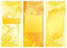 желтый цвет предпосылок иллюстрация штока