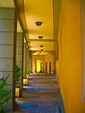 желтый цвет прохода Стоковые Фотографии RF