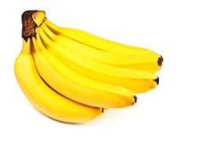 желтый цвет пука бананов стоковое изображение rf