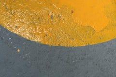 желтый цвет пункта Стоковые Изображения RF