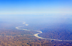 желтый цвет реки Стоковая Фотография RF