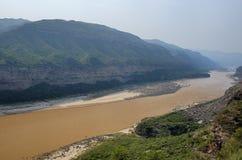 желтый цвет реки Стоковое Изображение RF