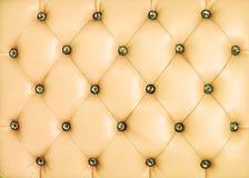 желтый цвет сбора винограда предпосылки кожаный Стоковые Изображения RF