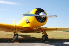 желтый цвет сбора винограда самолета Стоковое Изображение RF