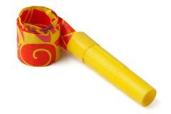 желтый цвет свистка Стоковое Изображение RF