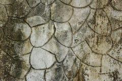 Желтый цвет сделал по образцу вымощать плитки на улице, взгляд сверху Цементируйте кирпичи, приданную квадратную форму текстуру п Стоковые Фотографии RF