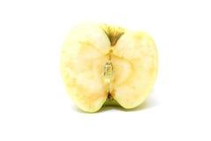 желтый цвет сердечника яблока Стоковые Изображения RF