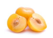 желтый цвет слив Стоковые Фотографии RF