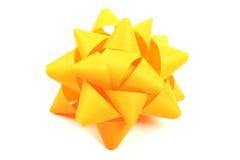 желтый цвет смычка Стоковая Фотография RF