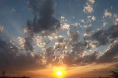 желтый цвет солнца Стоковая Фотография RF