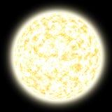 желтый цвет солнца Стоковое фото RF