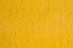 желтый цвет стены Стоковое фото RF