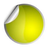 желтый цвет стикера бесплатная иллюстрация