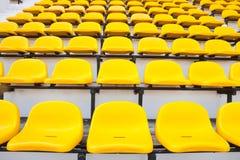 желтый цвет стула Стоковые Фото