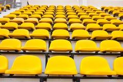 желтый цвет стула Стоковое фото RF