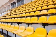 желтый цвет стула Стоковое Изображение