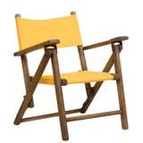 желтый цвет стула стоковая фотография