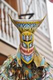 Желтый цвет Таиланда маски привидения напольный Стоковые Фото