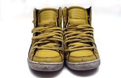 желтый цвет тапок стоковые фотографии rf