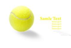 желтый цвет тенниса шарика Стоковая Фотография