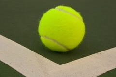 желтый цвет тенниса 7 шариков Стоковое Изображение
