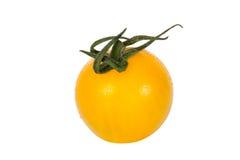 желтый цвет томата вишни Стоковое Фото