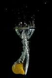 желтый цвет томата выплеска Стоковая Фотография RF