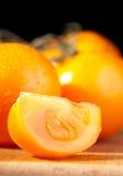 желтый цвет томата Стоковая Фотография