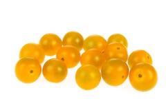 желтый цвет томатов вишни Стоковое Изображение