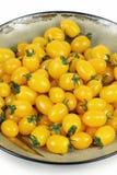 желтый цвет томатов Стоковые Фото