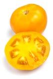 желтый цвет томатов Стоковое фото RF