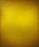 желтый цвет треснутый предпосылкой grungy текстурированный Стоковое Фото